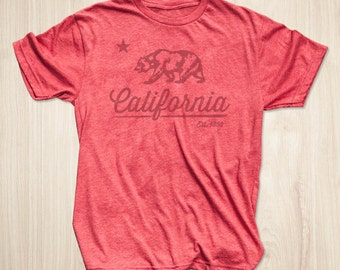 California Shirt, California Flag Shirt