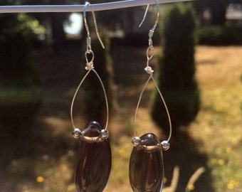 Apache Tears Earrings