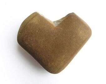 Heart Shaped River Stone