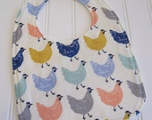 SWEET NATURALS/Organic Line/Baby Bib/Infant--18 mo./Roost/Organic Fleece Back