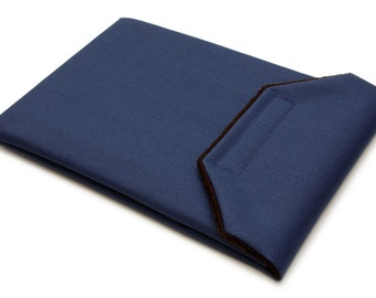 iPad Mini Sleeve - Navy Blue Canvas