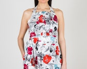 Mallory Mixit Print Dress