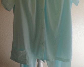 Pajamas Nylon Shadowline Lounge Set Size 34