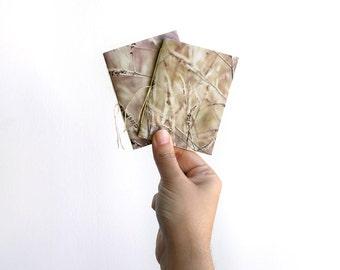 Golden summer pocket notebooks, small notebook, mini notebooks, notebook set, journal notebook, mini journal, blank notebook, photo cover