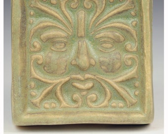 Wind Greenman Tile #1