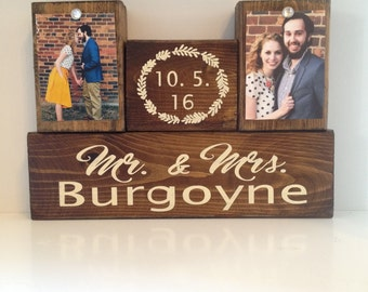 Wedding gift, Wedding gift ideas, custom names, custom wooden sign, custom sign, rustic sign, Bridal shower gift, Mr and Mrs Wedding Present