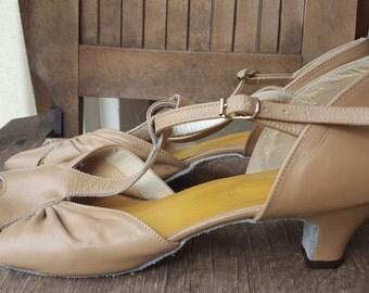SWING    ///    Leather Dance Heels
