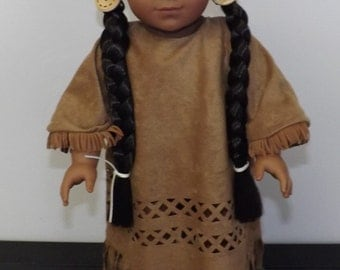 Native American Outfit - fits American Girl and other 18 inch dolls