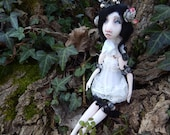 Ooak Art Doll  - Petite Lena .Handmade