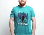 Fouke Monster crewneck tshirt