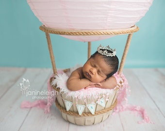 Maternity Photo Prop Baby Girl Photo Prop Crown Cake Topper Mini Crown Photo Prop Maternity And Newborn Photo Prop Baby Tiara Baby Crown