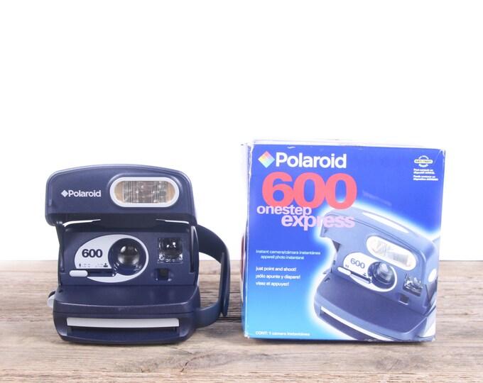 Polaroid Camera / One Step Express 600 Camera / Old Polaroid Camera / Polaroid Onestep Camera / Vintage Polaroid Camera Retro Polaroid