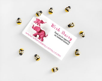 Mini Bee Magnets Home Office, Kitchen, School Locker Organization Perfect for Summer Weddings, Birthdays, Bridal Baby Showers Gift Set of 10
