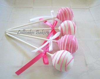 Cake Pops: Birthday Cake Pops Made to Order with High Quality Ingredients, 1 dozen