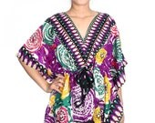 Boho Fashion Indian Kaftan Dress Free Size Women's Clothing Thailand (WC6293.74)