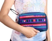 Lisu Cosmetic Bag Hill Tribes Handmade Fair Trade Thailand (BG260.6C0)