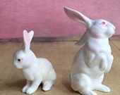 Vintage Miniature Lefton China Rabbits