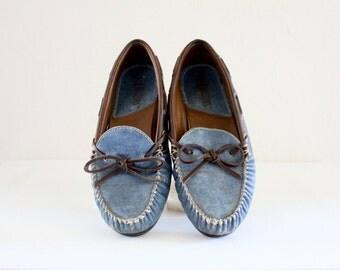denim loafers / 7