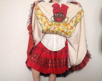 Amazing 1940 cabaret dress