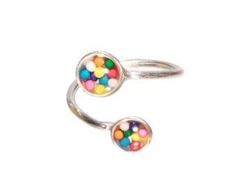 Sterling Silver Specimen Ring