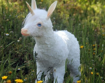 PREORDER White unicorn fawn
