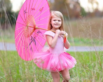"Hot Pink & Grey ""Madison"" hot pink grey girls tutu, kids tutu 2, 3, 4, photo prop, birthday tutu, 2T, 3T, 4T, toddler tutu, dress up skirt"