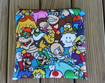 Reusable Bag, Nintendo - ZIPPER Sandwich Bag
