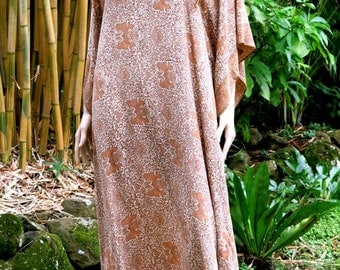 Extra long Kaftan, Silk Caftan, Cover up, Long Dress