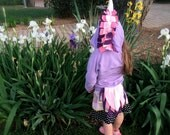 Lavender Baby Unicorn Hoodie - Lilac Girl Hoodie - Unicorn Lilac Costume - Dress Up Clothes - Play Clothes - Unicorn Birthday