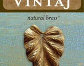Vintaj 38x23mm Woodland Leaf (1 pc/pkg)