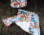Wonder Woman Bib Burpcloth and Washcloth Set