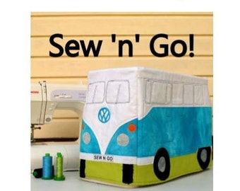 Kombi Van Sewing Machine Cover - PDF pattern