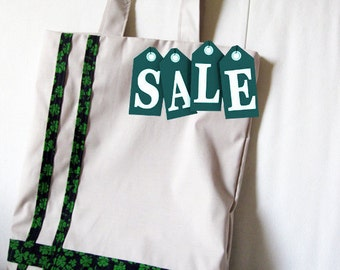 ON SALE - Tote bag Shamrock