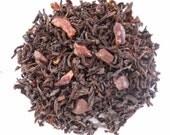 CHOCOLATE EARL Grey Tea, Organic Loose Leaf,Hand Crafted, Unique Flavor, New Earl Grey , Caffeinated, 1oz Eco Box