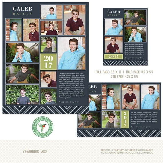 Yearbook ads senior ads graduation ads 3 by thehummingbirdpress for Free yearbook ad templates