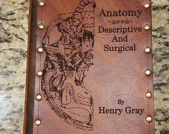 Leather covered copy of Gray's Anatomy