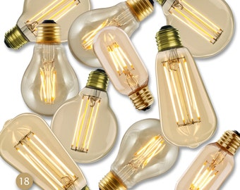 LED 18-Bulb Replacements For Industrial Chandelier or Nostalgic Reclaimed Wood Chandy