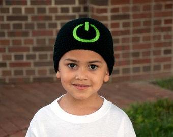 Gamer Beanie - Video Game Hat - Gamer Gifts - Geek Gift - Nerd Gifts - Geek Clothing - Kids Beanie - Boys Hats
