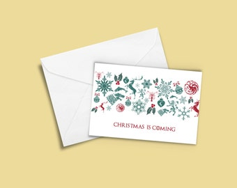 Game of Thrones Greeting Card - Christmas is Coming