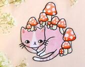 Mushroom Kitty Patch