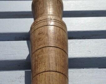Wooden garden dibber, garden dibbler, vintage bulb planter, garden tool, planter