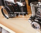 Responsive WordPress Theme - Vine & Lace - Blog Template