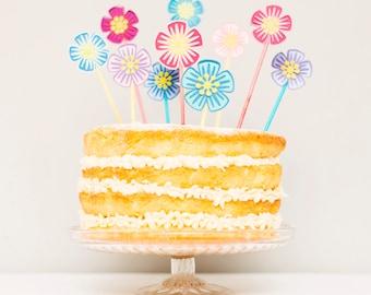 Paper Flower Cake Topper // Cake Decoration - Birthday // Wedding // Baby Shower