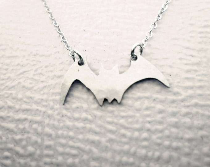 #4 Bat Necklace Design