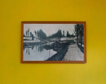 Mid Century Expressionist Framed Print by Bernard Buffet