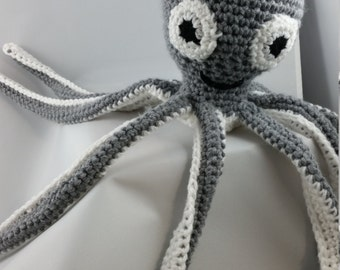 Crochet Octopus - MADE TO ORDER