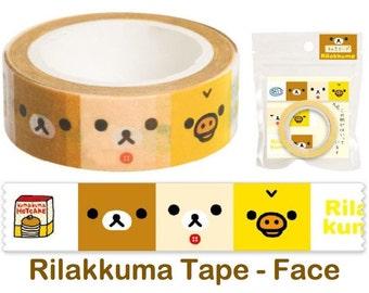 Rilakkuma Washi Tape - Face