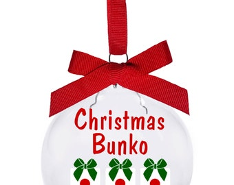 Christmas Bunko 2016 with dice presents