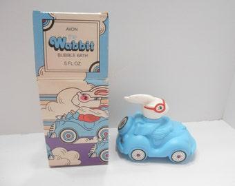 Vintage 1983 Avon The Wabbit (14) Bubble Bath