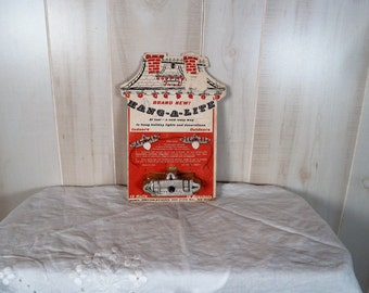 Vintage Christmas Light Hangers Original Package
